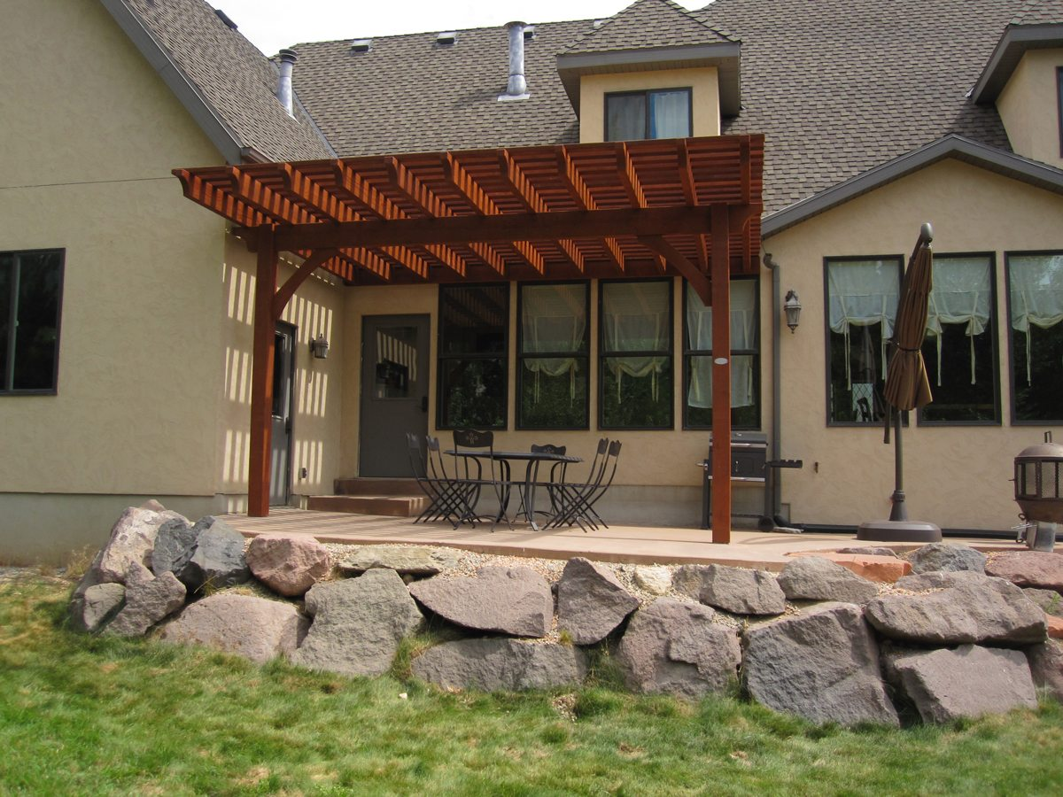 Trellis over garage door - Timber Garage Door Awnings Attached Pergola Kit Shade