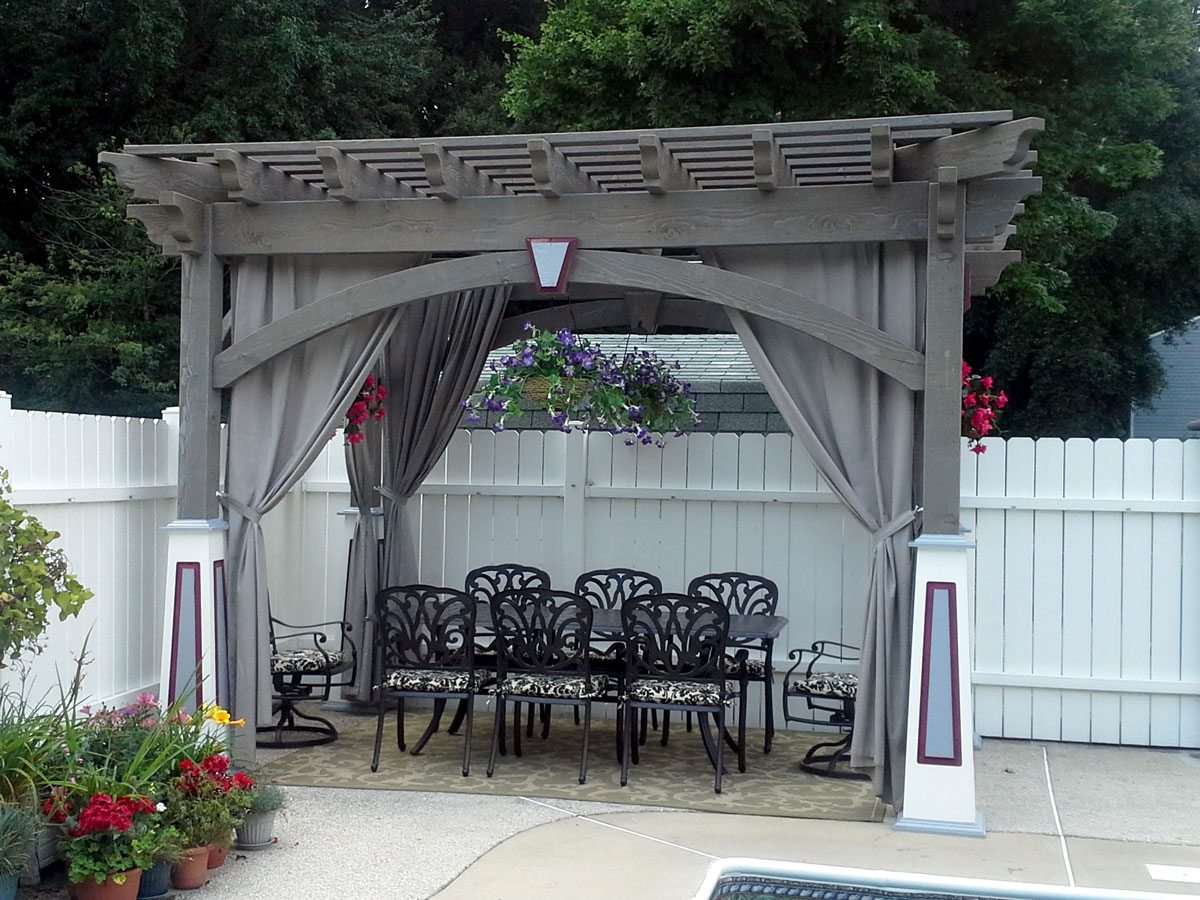 20 Cool Pool Side Shade: Pergolas, Pavilions & Arbors | Western ...