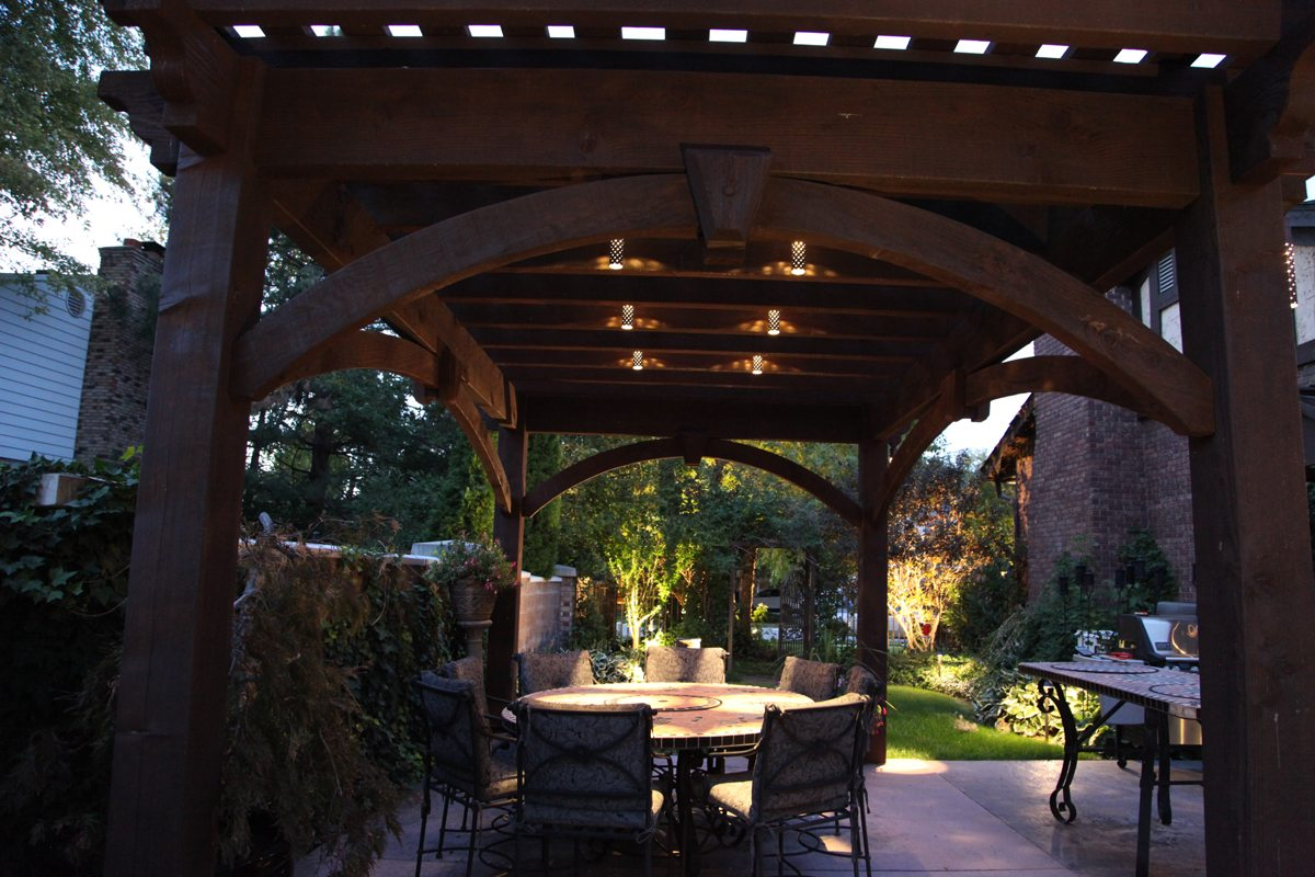 25 Benefits Pf Stair Lights Outdoor: 25 Easy-to-Do Outdoor Dining Rooms
