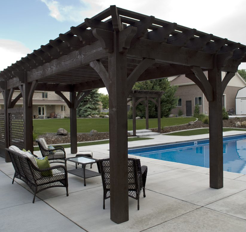 Pergola Designs With Roof: 12 Pergola Roofing Design Ideas