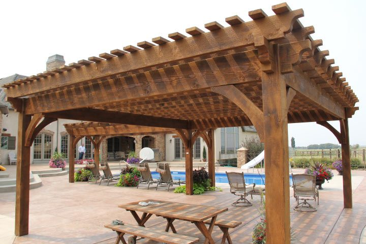 shade for pool pergolas