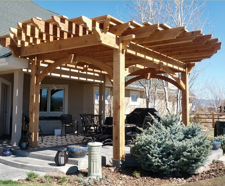 Plan For A 16 X 32 Oversize Timber Frame Diy Pergola