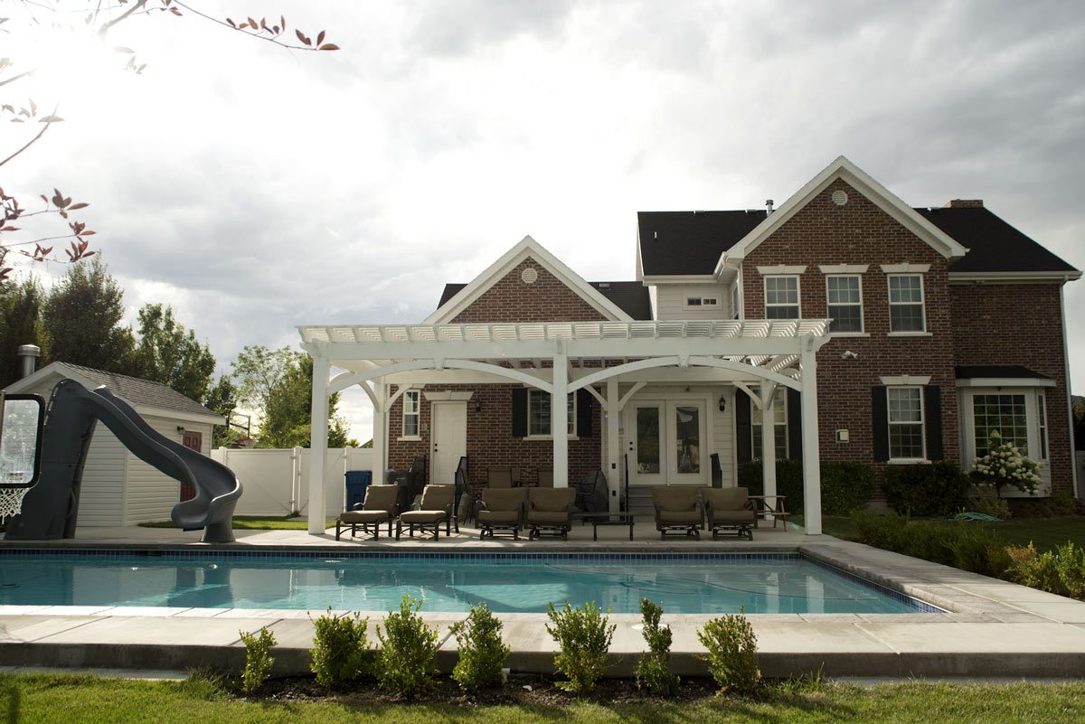 diy poolside pergola kit