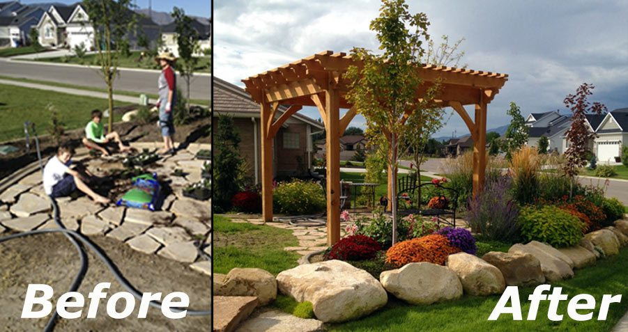 20 Super Fast Before & After Backyard Makeovers | Western ...