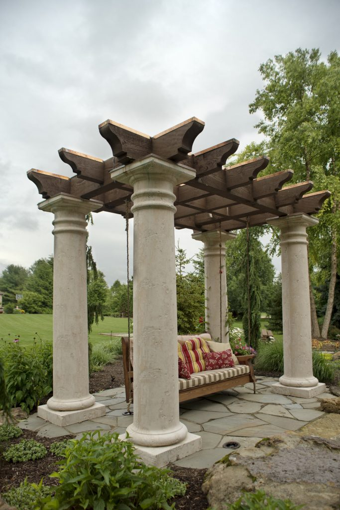 Church-tuscany-swing-pergola