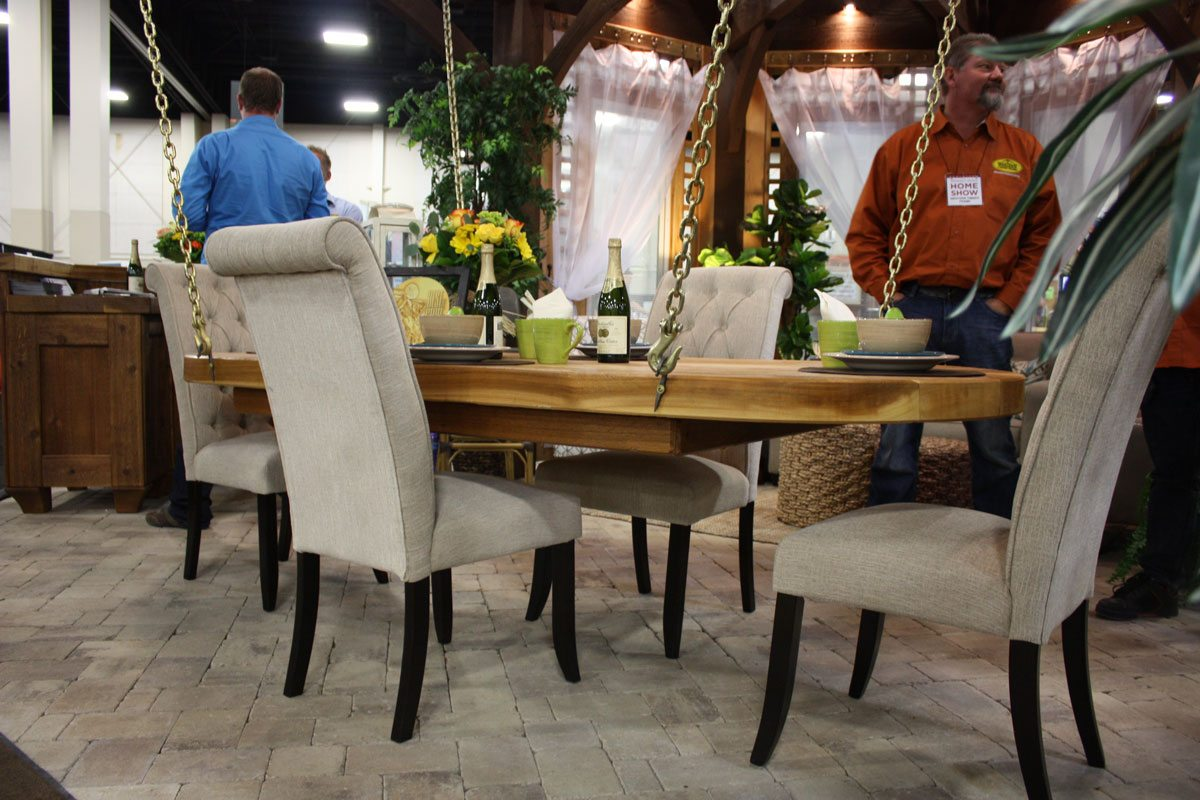 Home Show Booths For Kitchen Cabinets Kitchen Dining