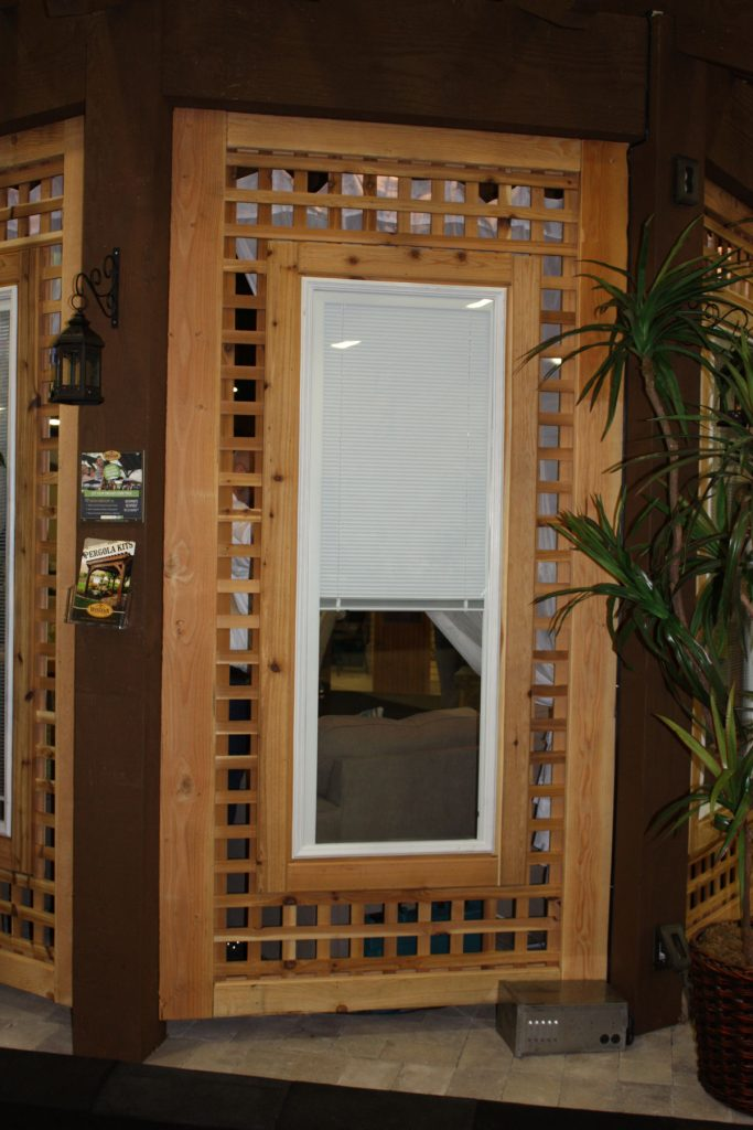 home show pergola window