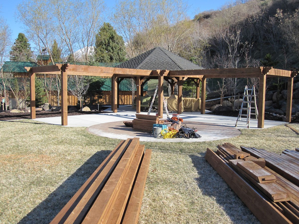 gazebo pergolas timber frame