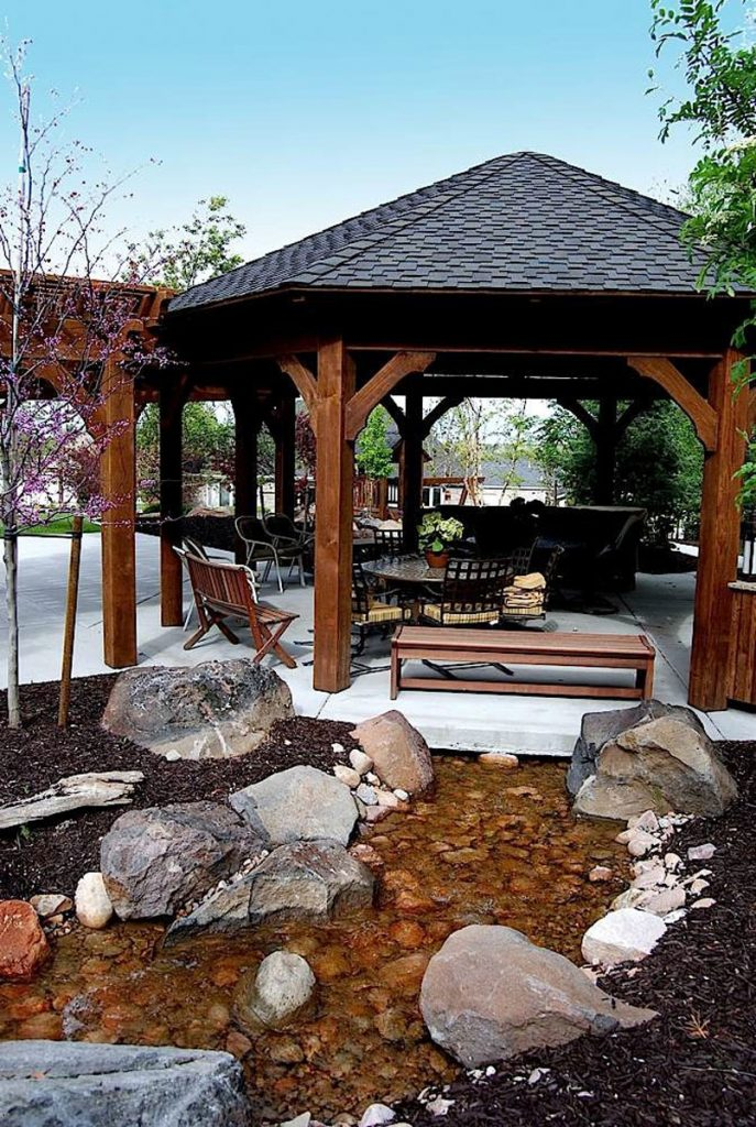 Diy Gazebo Pergolas Swing Set Amp Picnic Table Western