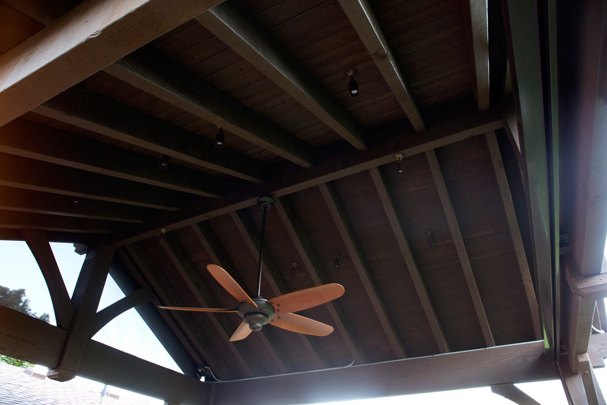 pavilion roof fan