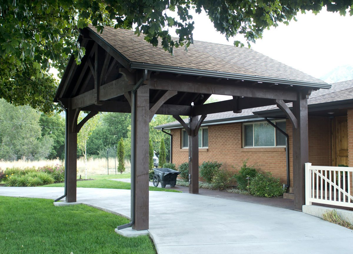 timber frame pavilion