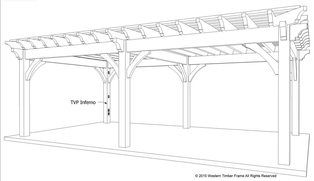 plan for a carefree  u0026 easy diy project  16 u0026 39  x 28 u0026 39  timber frame pergola