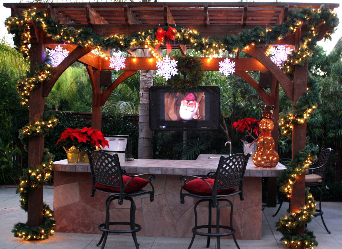Winter Installation For Outdoor Living Year Round
