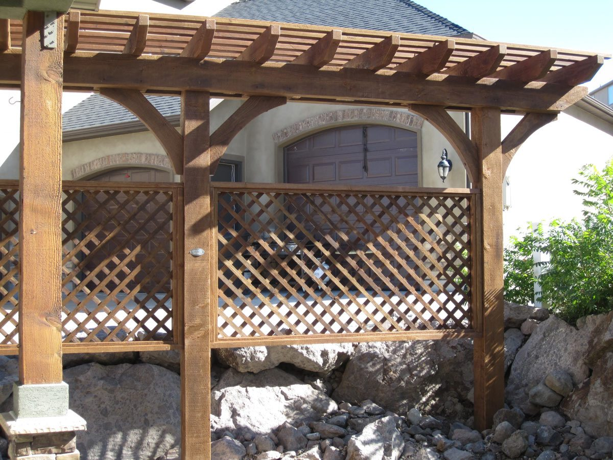 trellis shade privacy