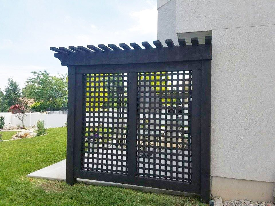 trellis lattice work privacy