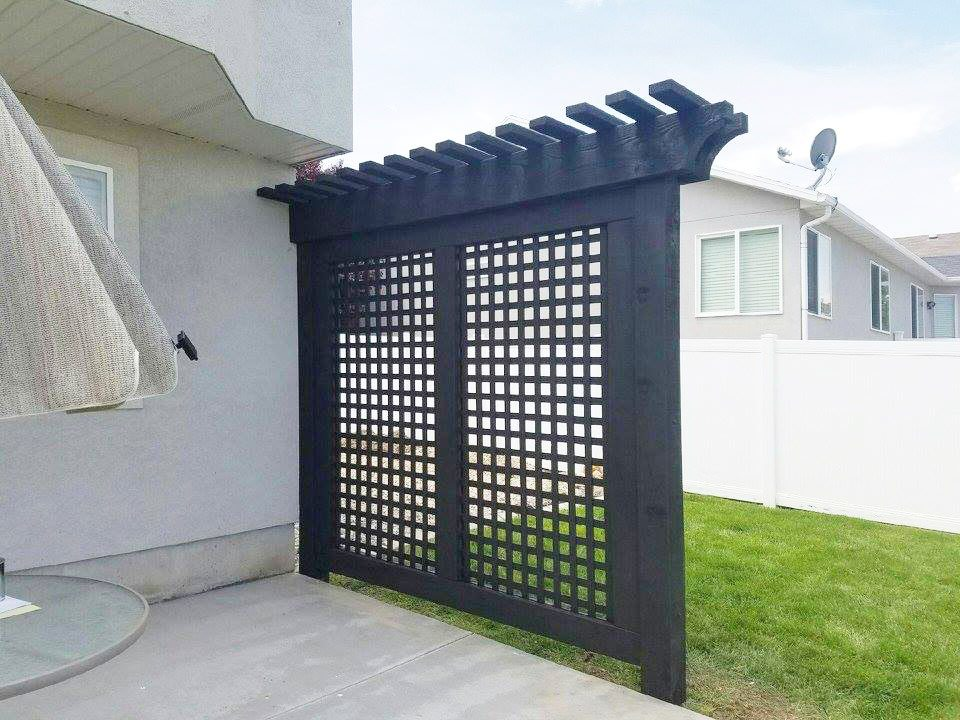 trellis for wall screen