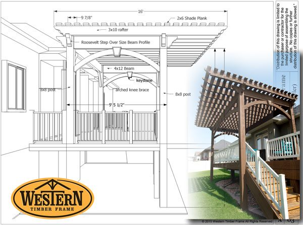 diy pergola plan for deck
