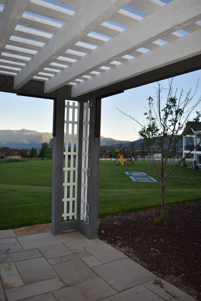 Aluminum metal timber frame vinyl or wood pergola kit western timber frame - Pergola aluminium en kit ...