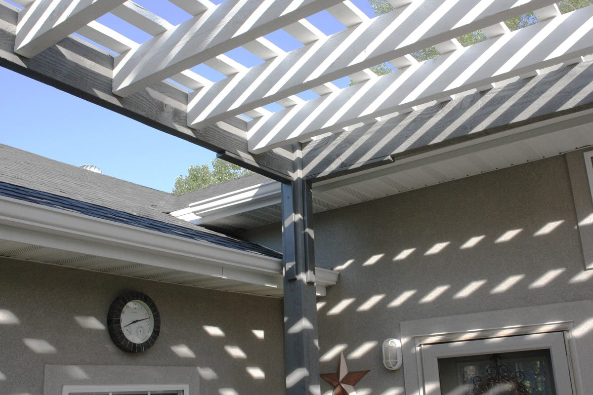 pergola roof contemporary