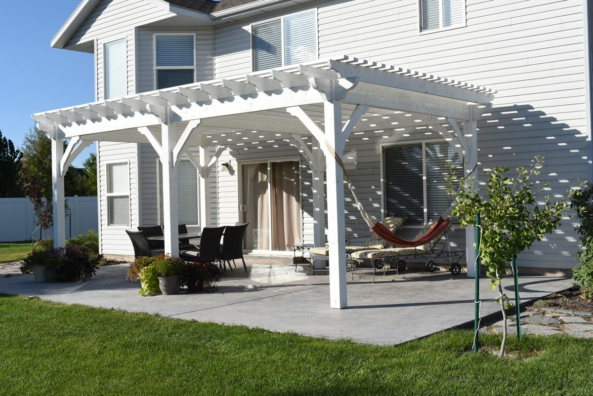 Are Pergolas Strong Enough To Hang A Hammock Or Swing On Western Timber Frame