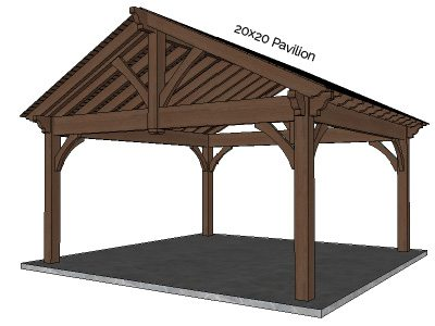 Gazebo & Pavilion Kits | Western Timber Frame