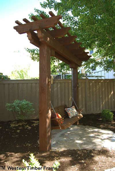 trellis swing shade