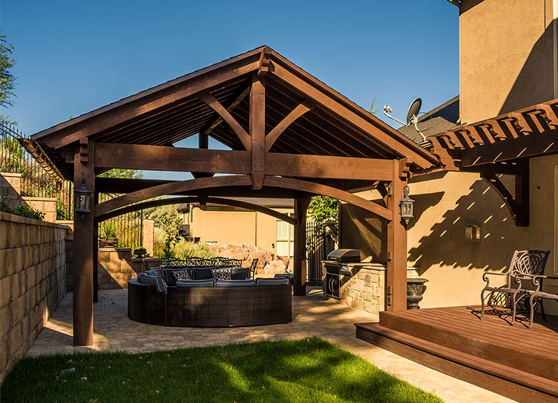 Gazebo Amp Pavilion Kits Western Timber Frame