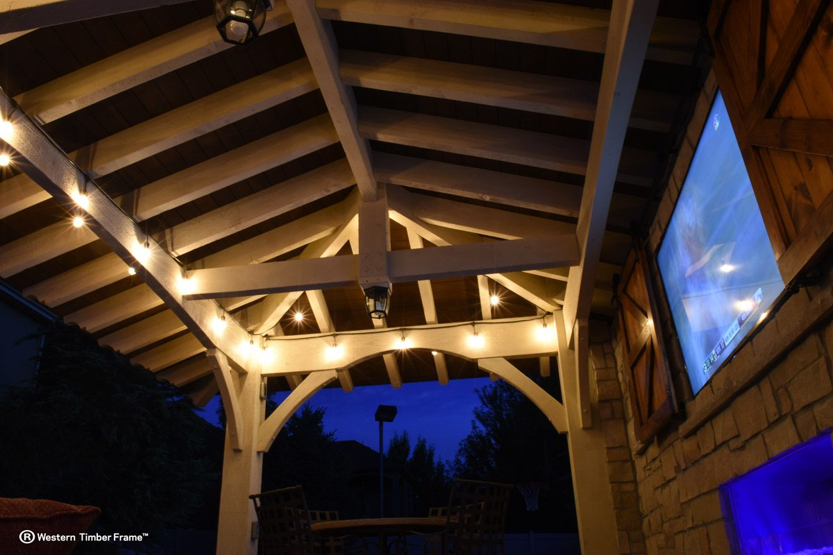pavilion outdoor television