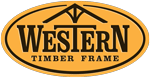 Western Timber Frame Sticky Logo Retina