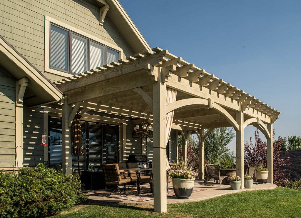 timber frame shadescape kit