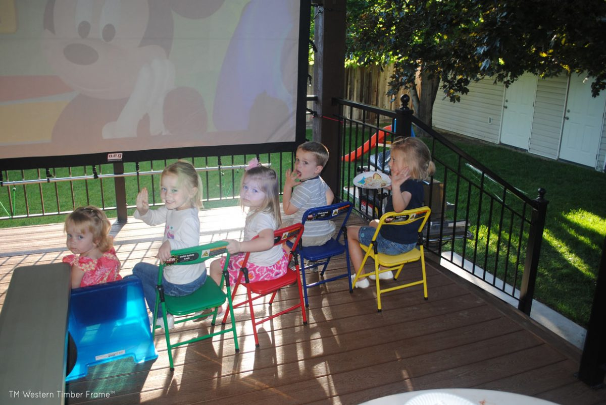 pergola movie children