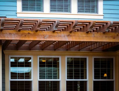 Green Passive Cooling w/Timber Frame Awning