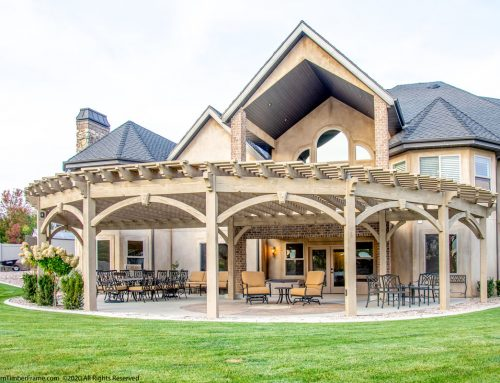 Add Curve Appeal to Multipurpose Outdoor Living Shelter