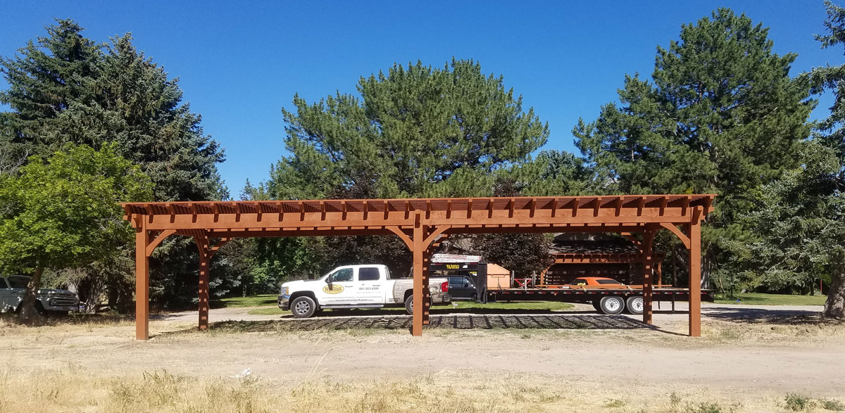 vehicle carport pergola cover