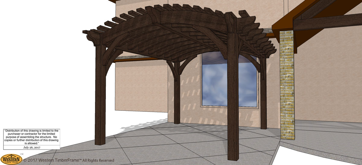 Easy Guide How To Measure For A Pergola Western Timber