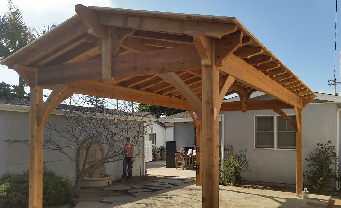 Choice California Cedar Diy Pavilion Western Timber Frame