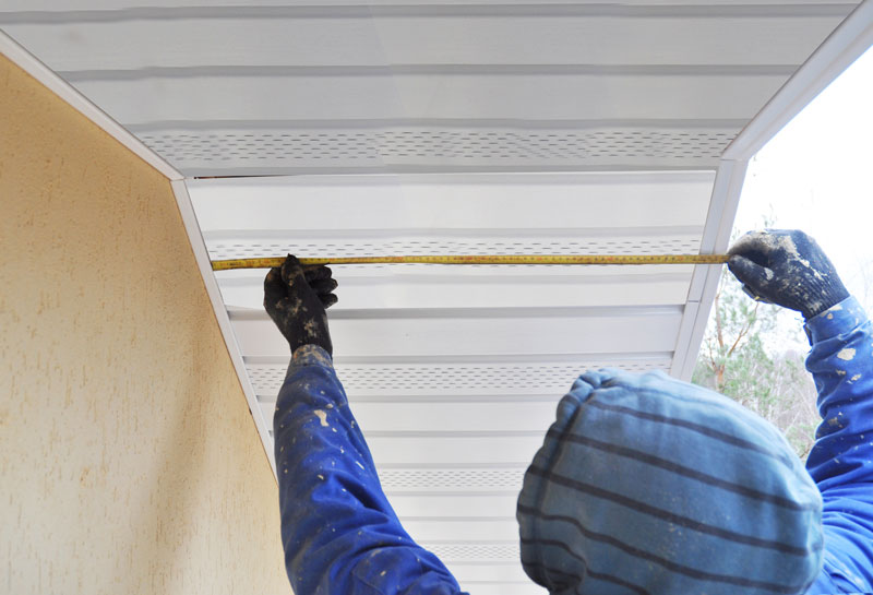 measure projection under eaves