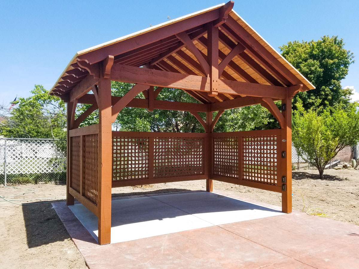 kit gazebo bois gazebo kit aluminum hardtop gazebo lebron with kit gazebo bois cool pergola. Black Bedroom Furniture Sets. Home Design Ideas
