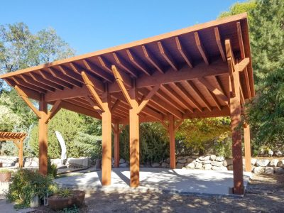 Diy arbor kit western timber frame mono pitch roof diy pavilion arbor pergola kits solutioingenieria