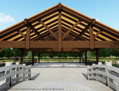 See Pavilion Plan for Middle of Lake/Pond
