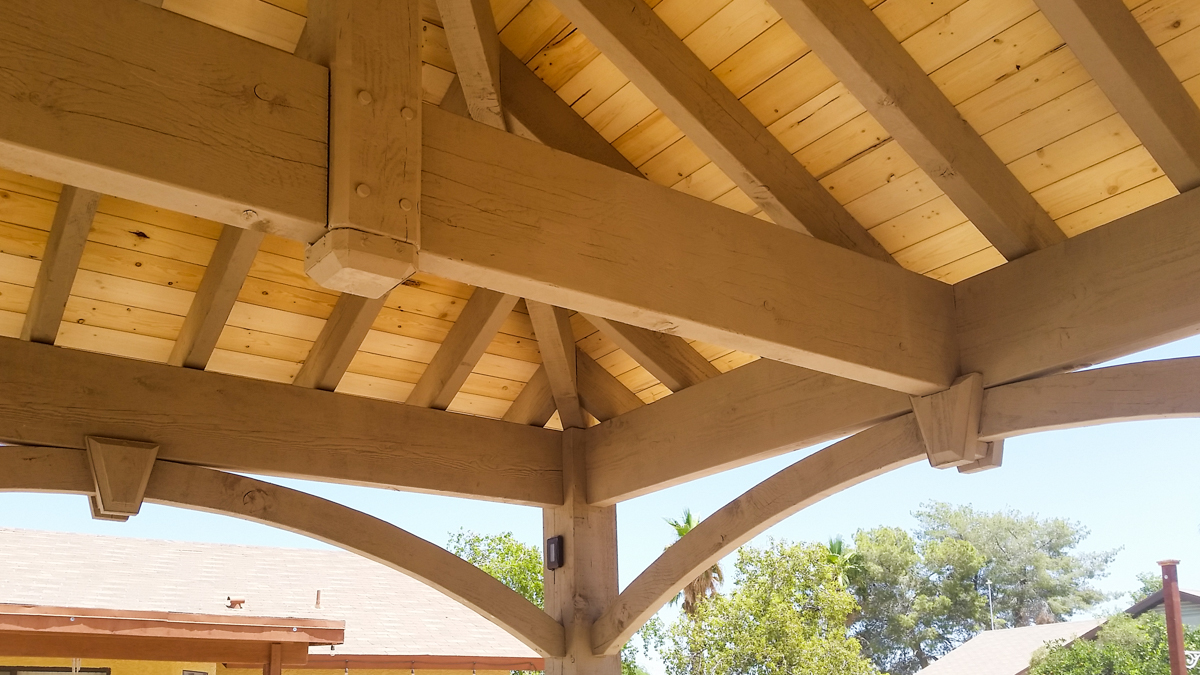Poolside Ramada Amp Pergola Arizona Install Western Timber