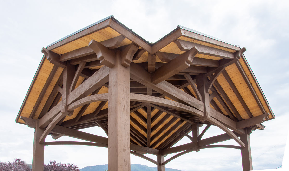 Rv Cover 4 Gabled Diy Pavilion W Fab Chunkiness Western Timber Frame