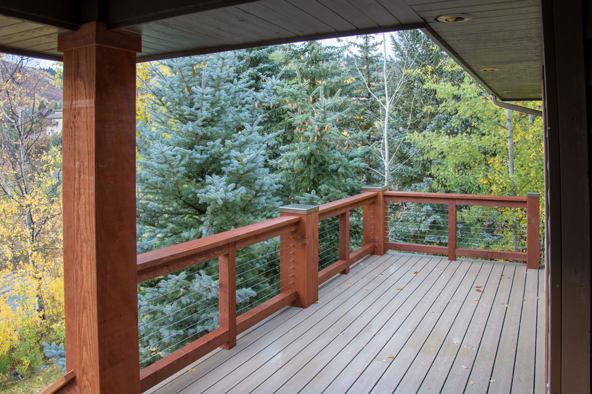 deck stainless steel cover