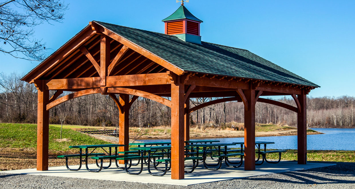 Rich Sequoia Premium Stain Color | Western Timber Frame on Sequoia Outdoor Living id=32117