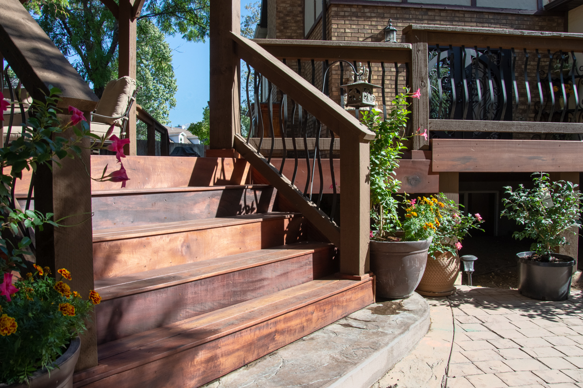 stairs for deck