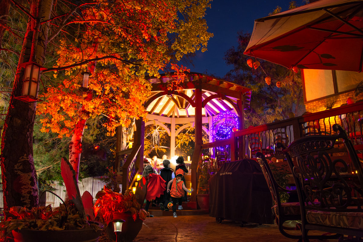 halloween party gazebo