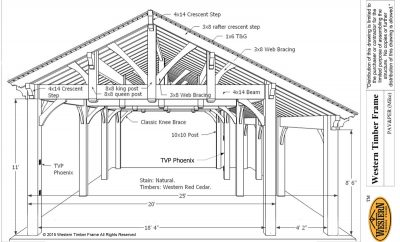 DIY pavilion plan