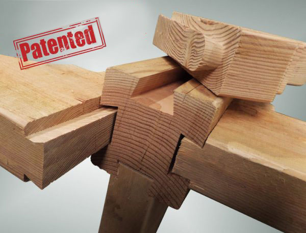 dovetail interlocking connections