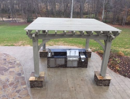 2000+Miles Shipped Free – Easy DIY Pergola w/Outdoor Kitchen