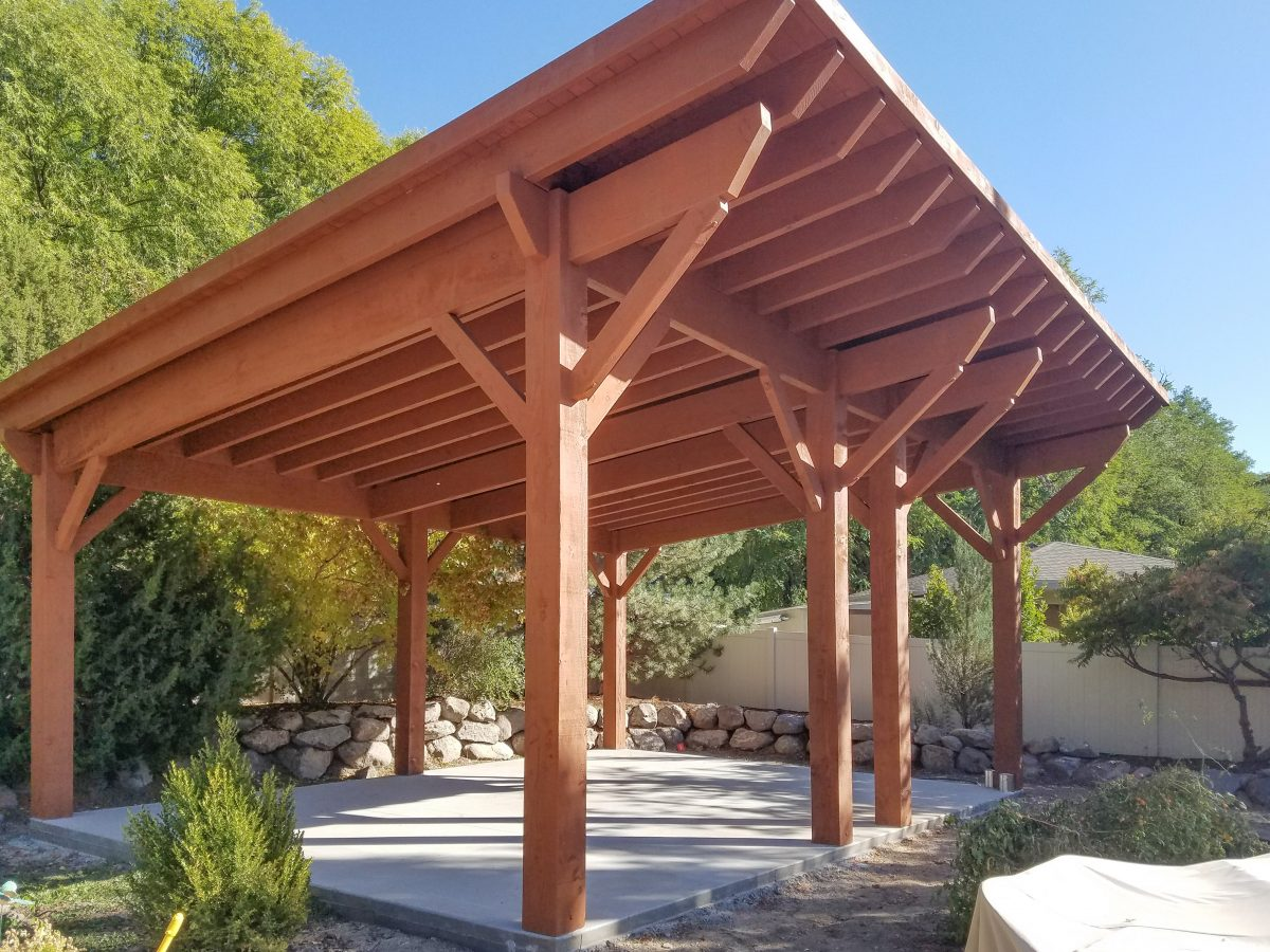 Pitched Roof | Western Timber Frame